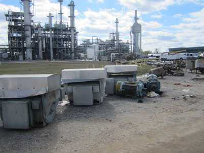 Chemical Plant - Liquidation & Dismantlement - Evonik