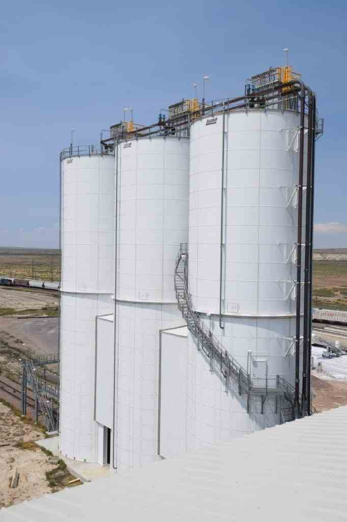 44000 Cu Ft Laidig Systems Inc Carbon Steel Silo