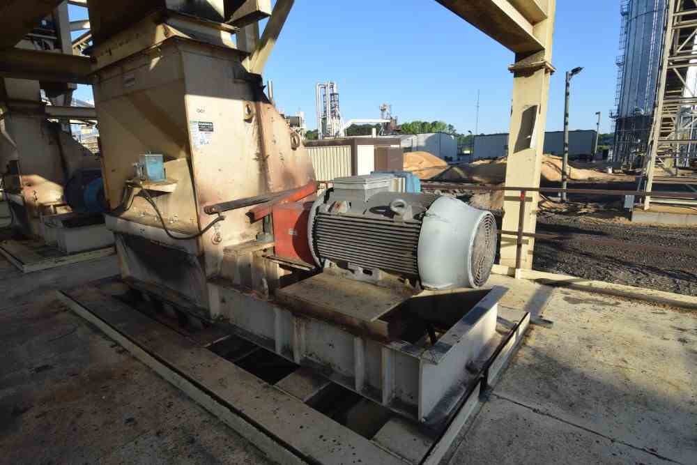 500 HP Schutte-Buffalo Hammer Mill Model 15300