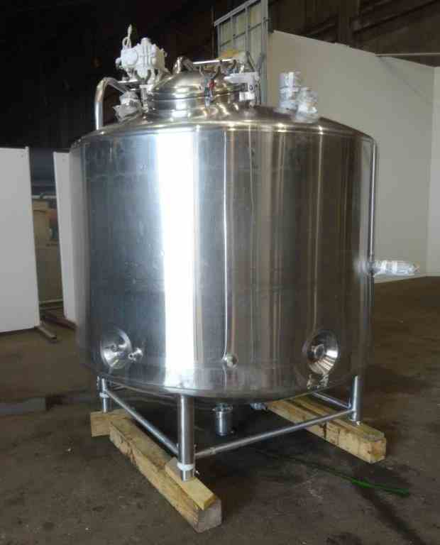 900 Gal DCI Jacketed SS Mix Kettle