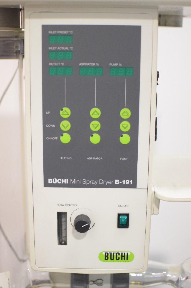 buchi mini spray dryer b 191 manual