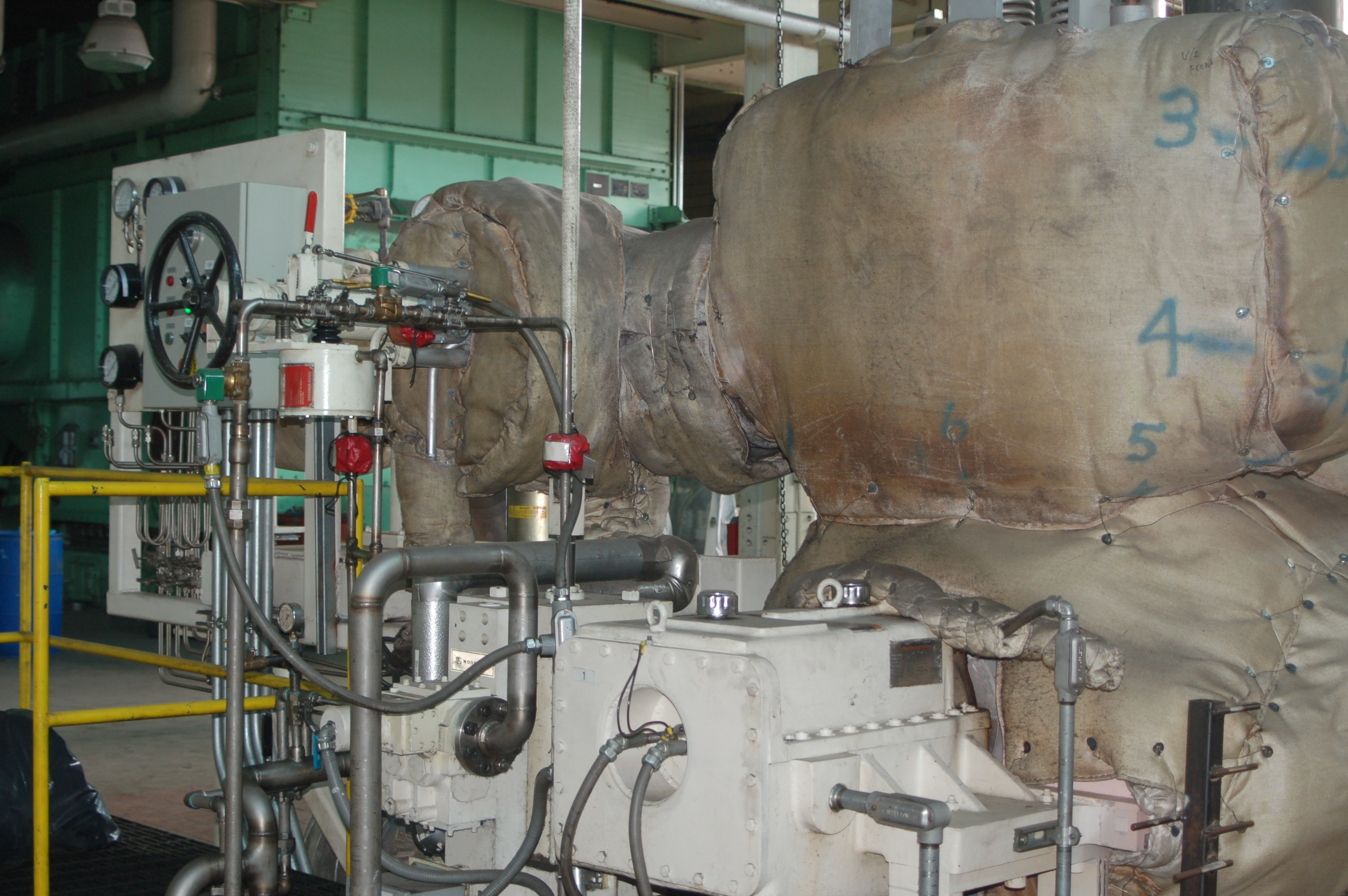 7 MW Dresser Rand Steam Turbine Generator