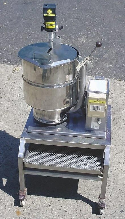 10 Gal Groen Stainless Steel Kettle 9247 New Used And
