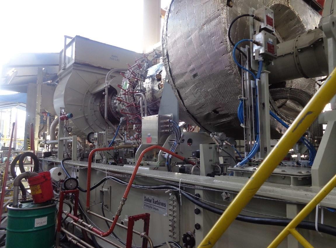 Solar Turbine Dual Fuel Control Assembly