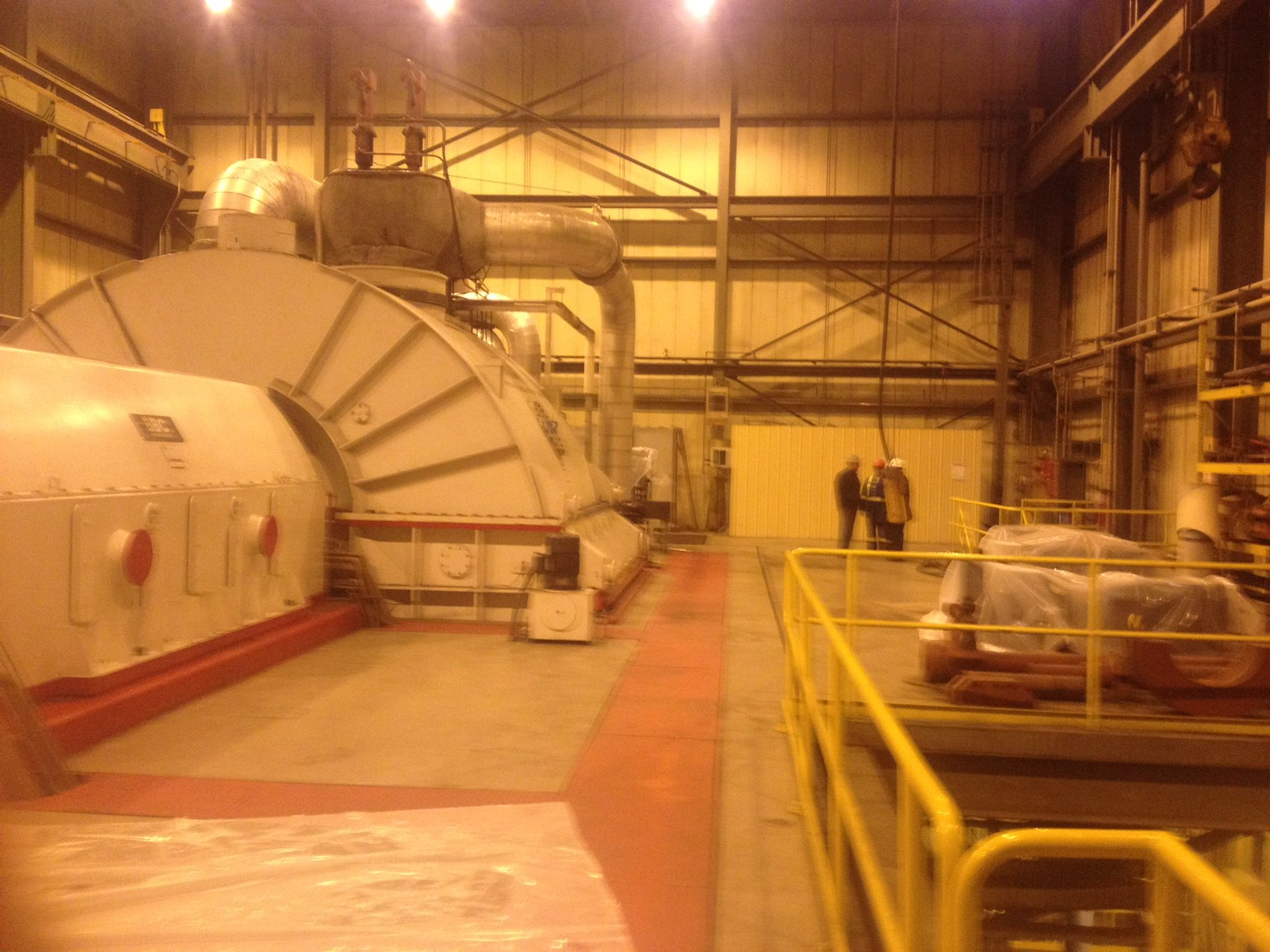 113 MW BBC Steam Turbine Generator Set