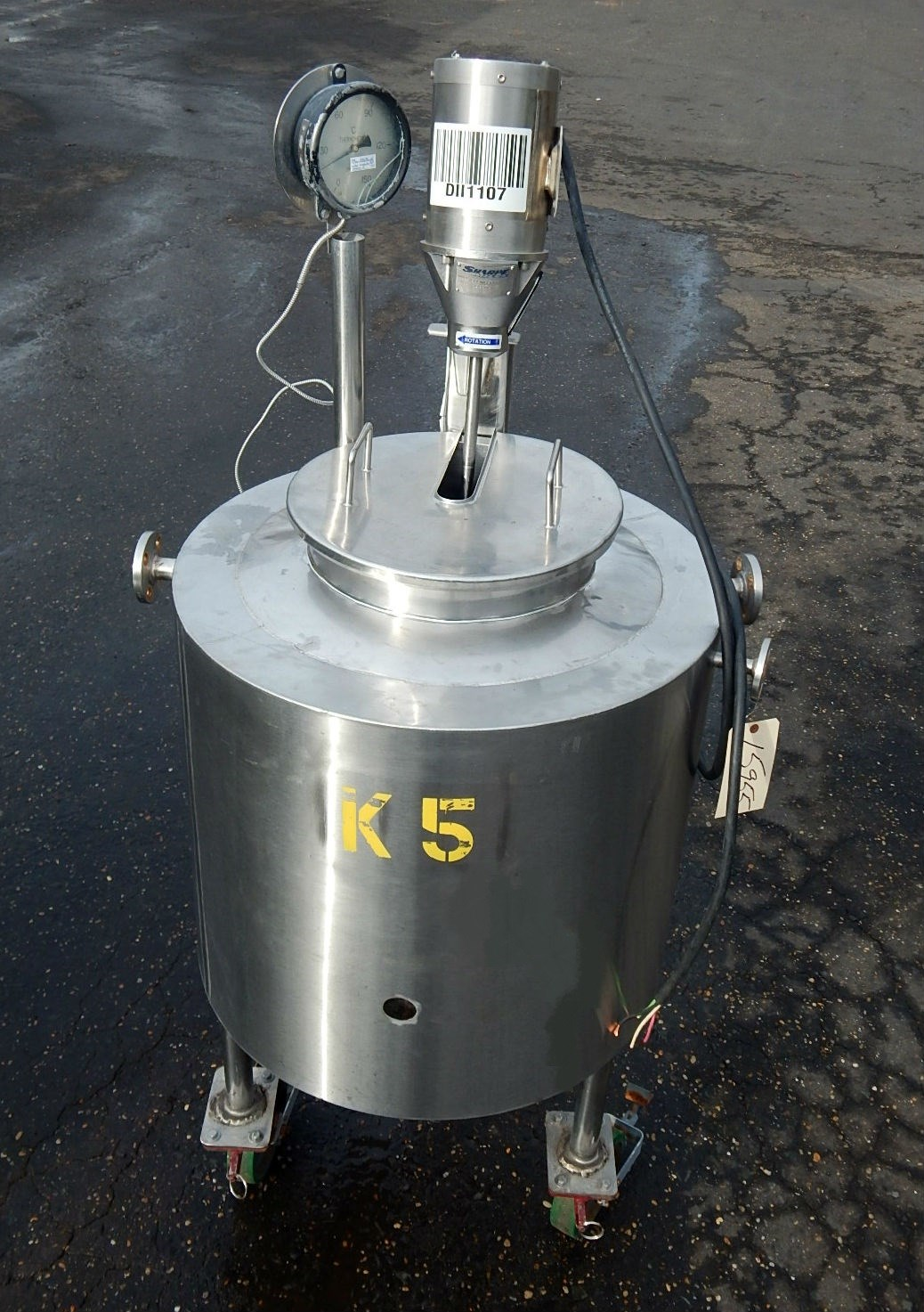 15 Gal Unknown Stainless Steel Tank 14417 New Used And