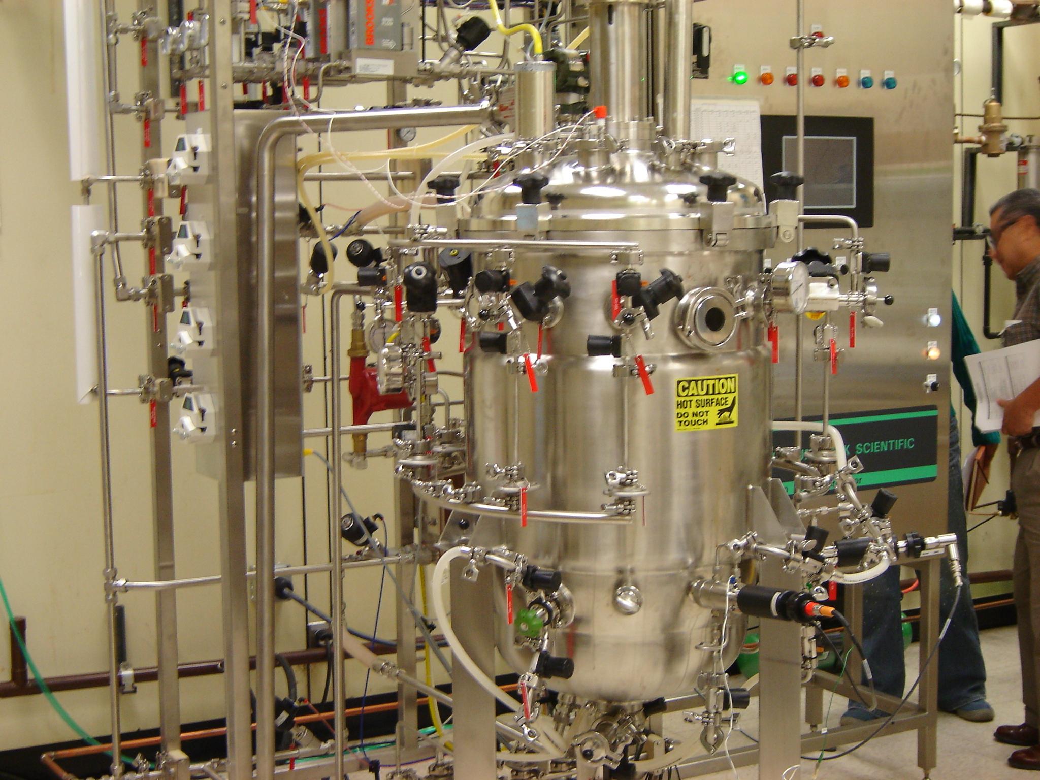 150 Liters New Brunswick Scientific Fermenter Bioreactor