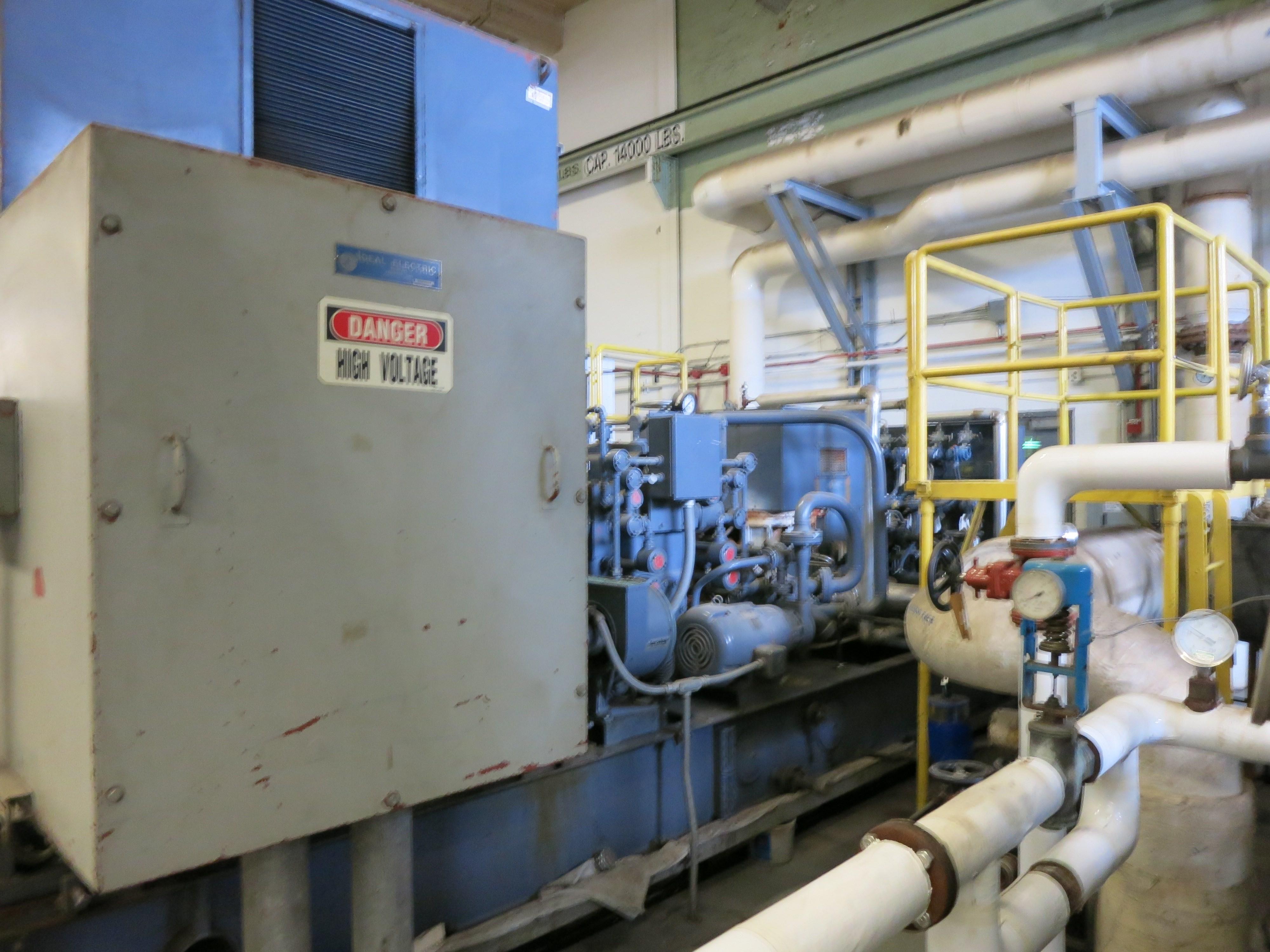 1500 KW Tuthill Steam Turbine Generator