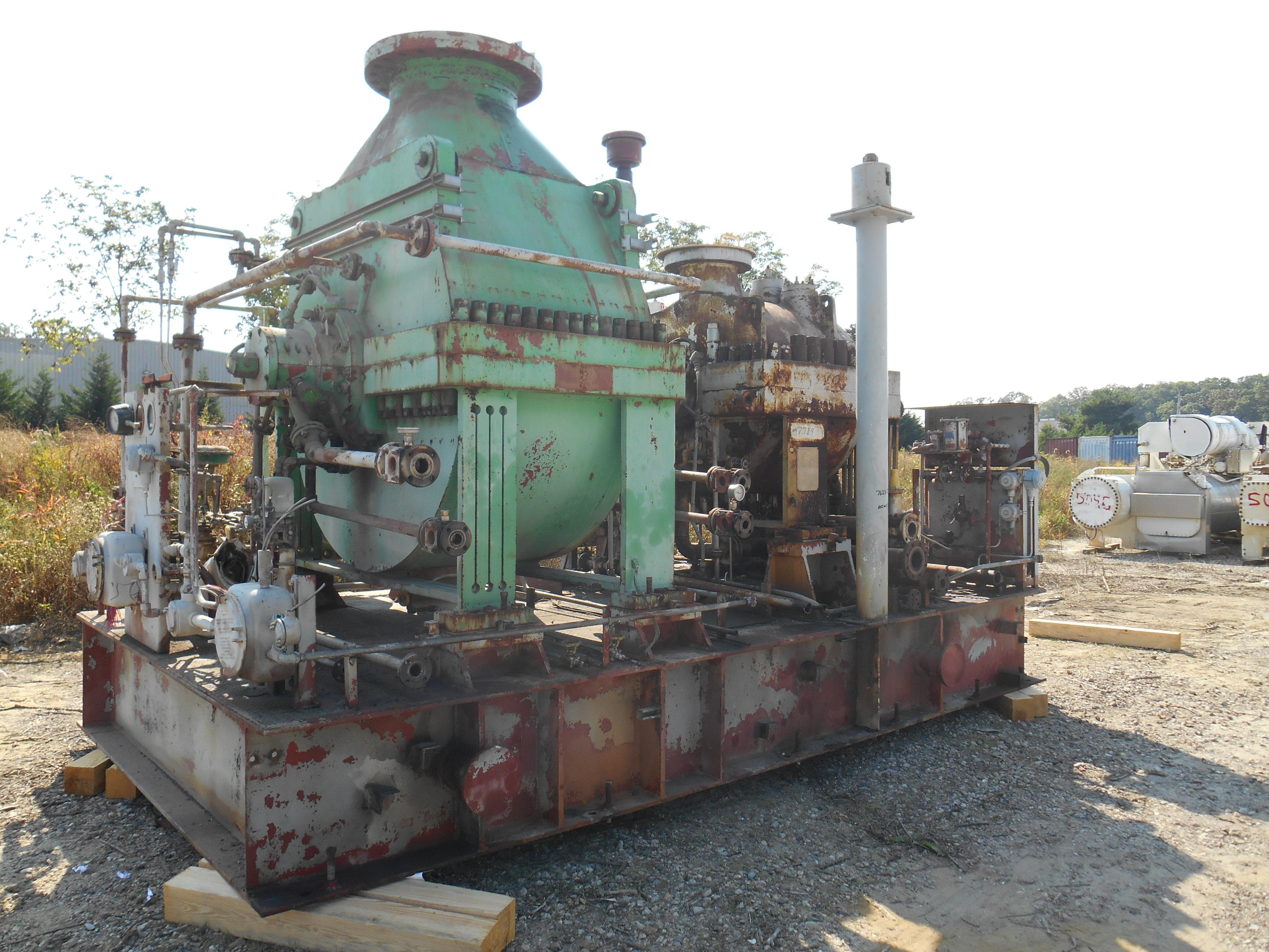 CFM DeLaval pressor Train 7719