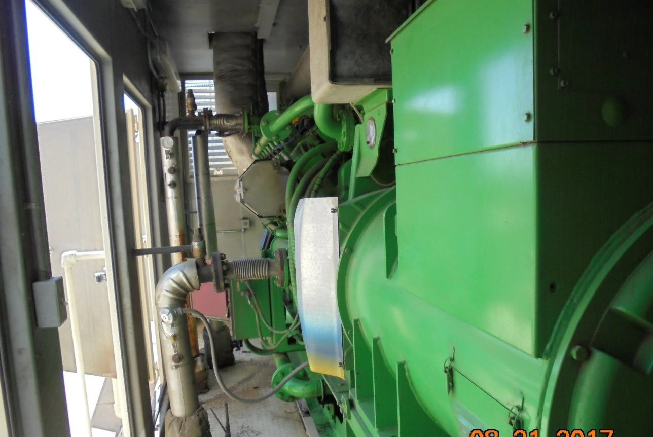 1600 KW Jenbacher Gas Engine & Generator | 13827 | New Used and