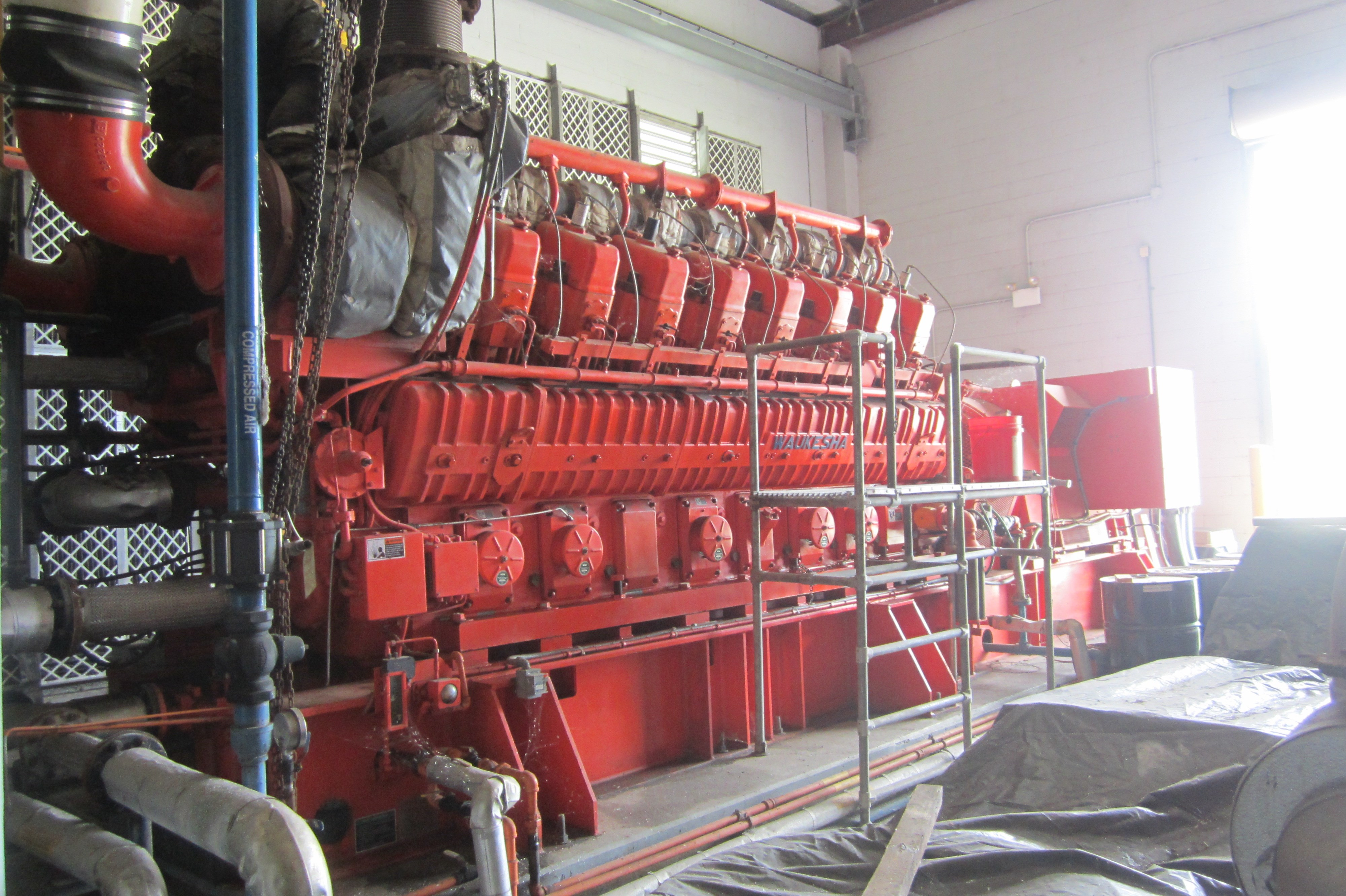 2 9mw waukesha gas engine with kato generator