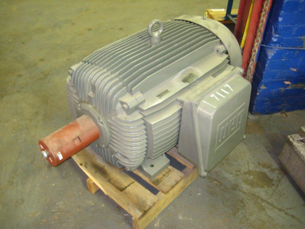200 Hp Weg Motor 7117 New Used And Surplus Equipment