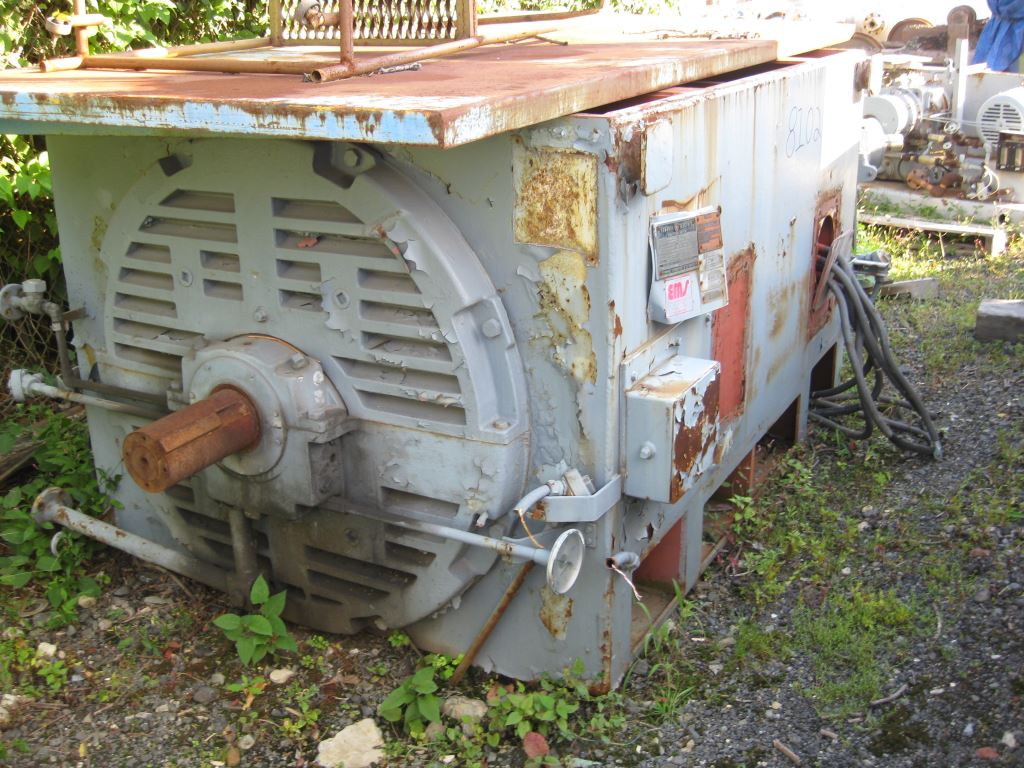 3500 hp general electric na motor 8102 new used and for 500 hp electric car motor