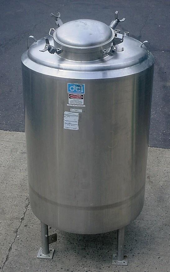 325 Gal Dci Inc Stainless Steel Pressure Vessel 8797