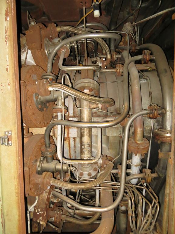 40000 KW General Electric PG6541B Gas Turbine Generator