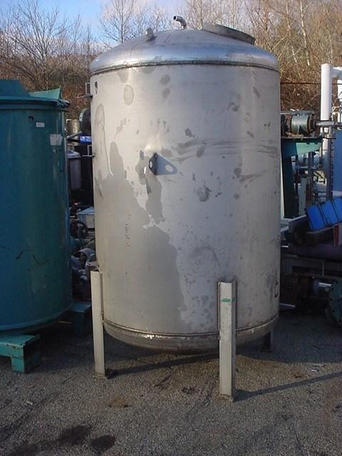 400 Gal Brunner SS Stainless Steel Pressure Vessel   14351   New