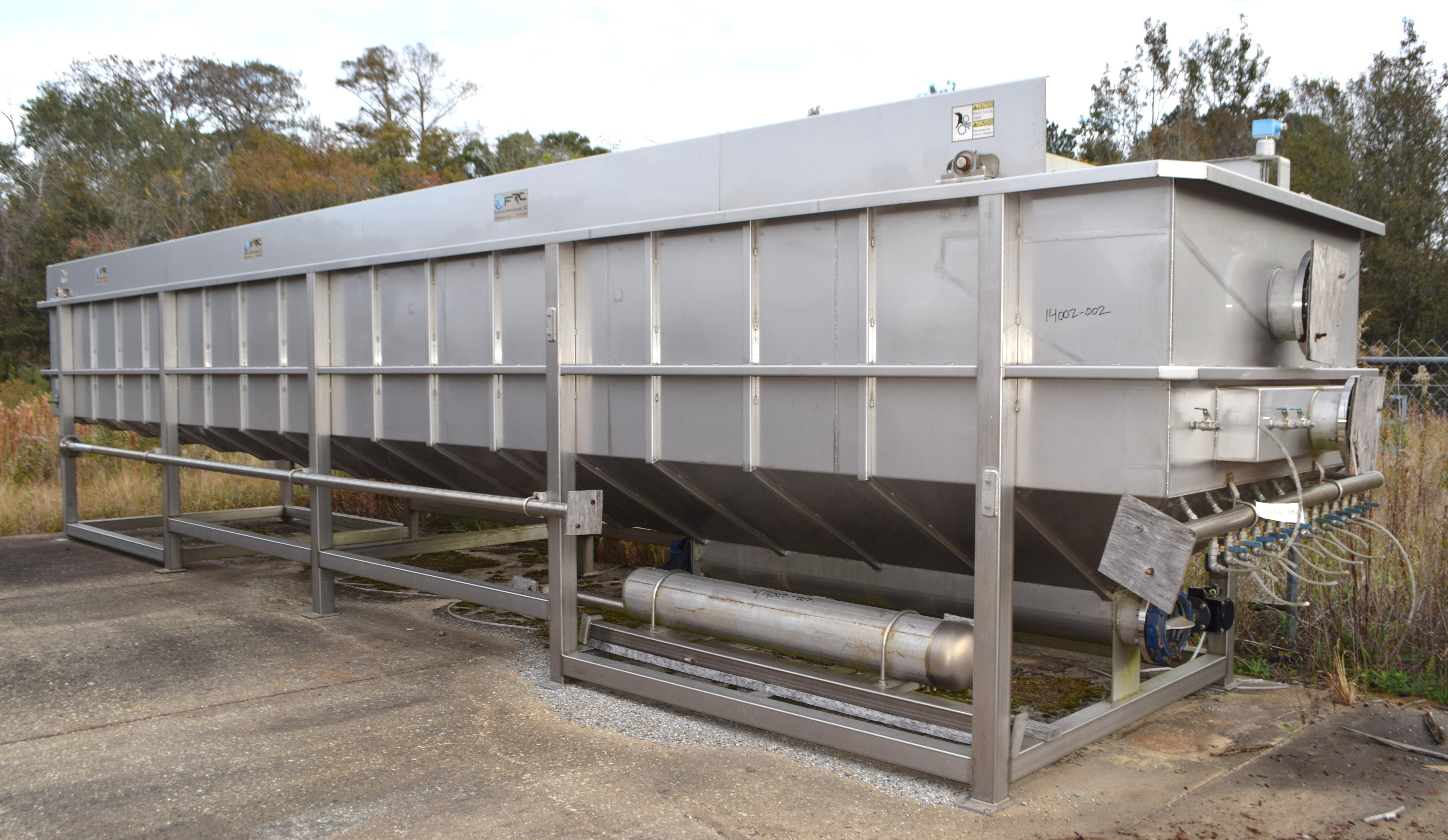 Unused 430 Gpm Frc Systems Dissolved Air Flotation System