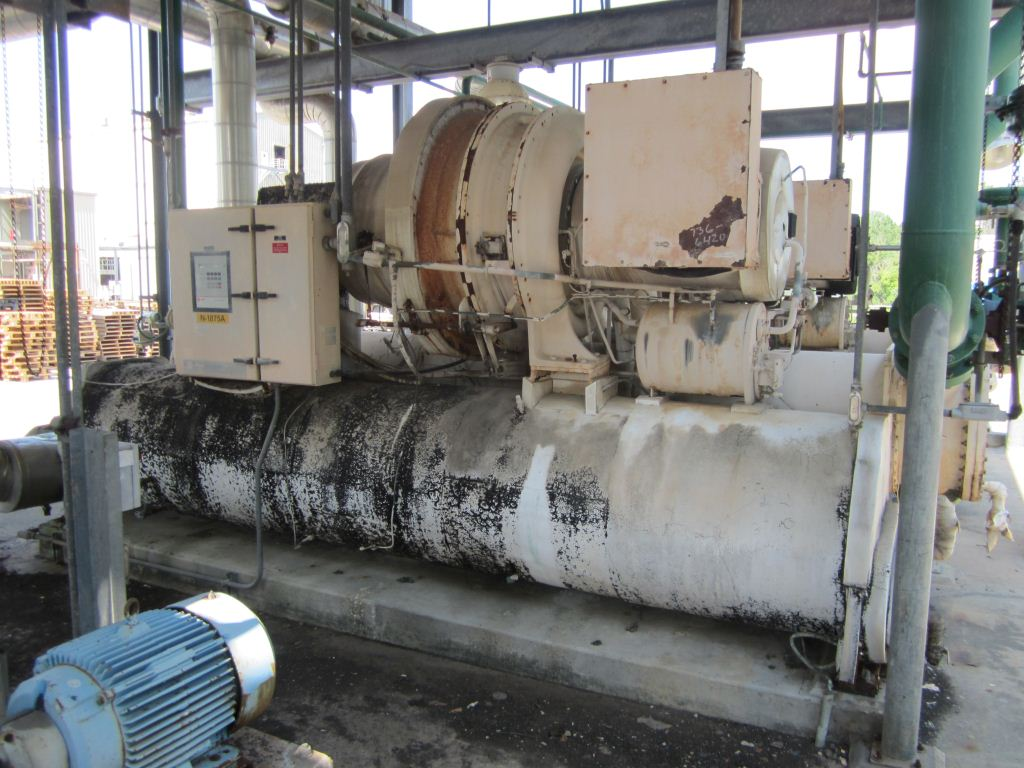 450 Ton Trane Chiller 6420 New Used And Surplus