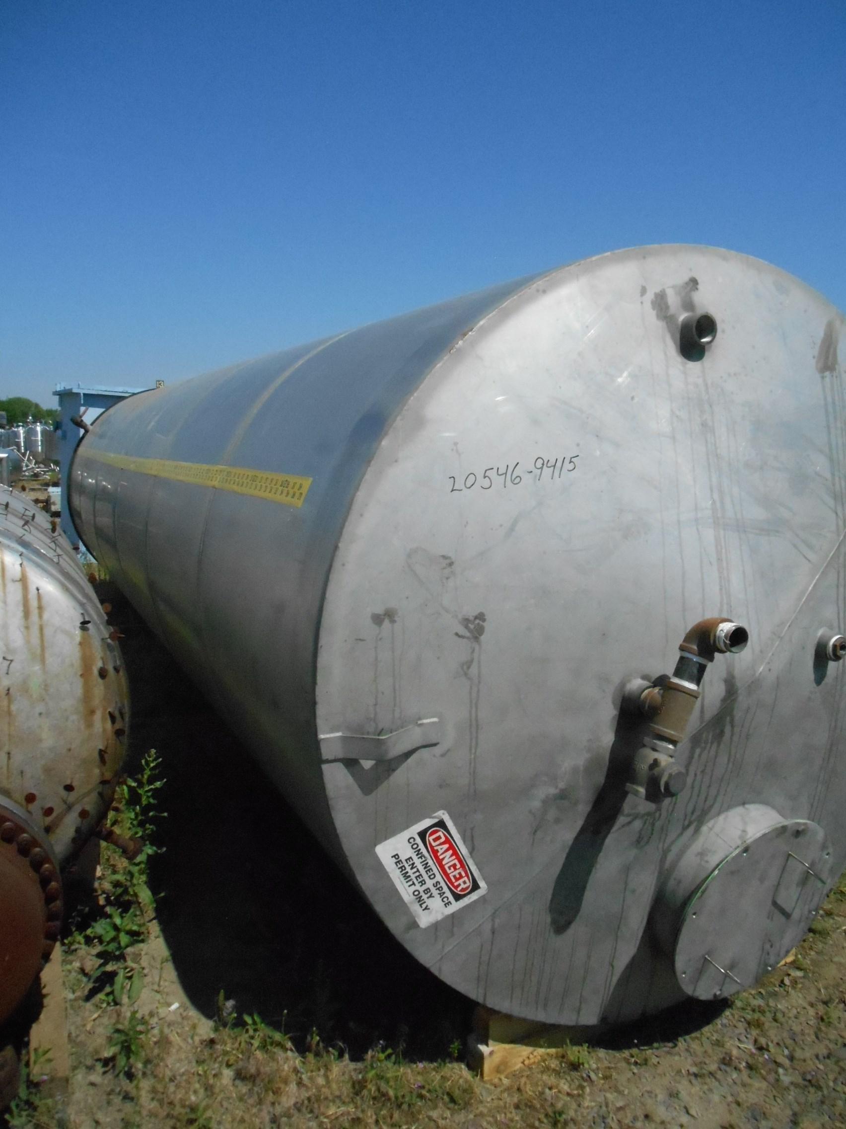 6000 Gal Eisenback Stainless Steel Tank | 9415 | New Used