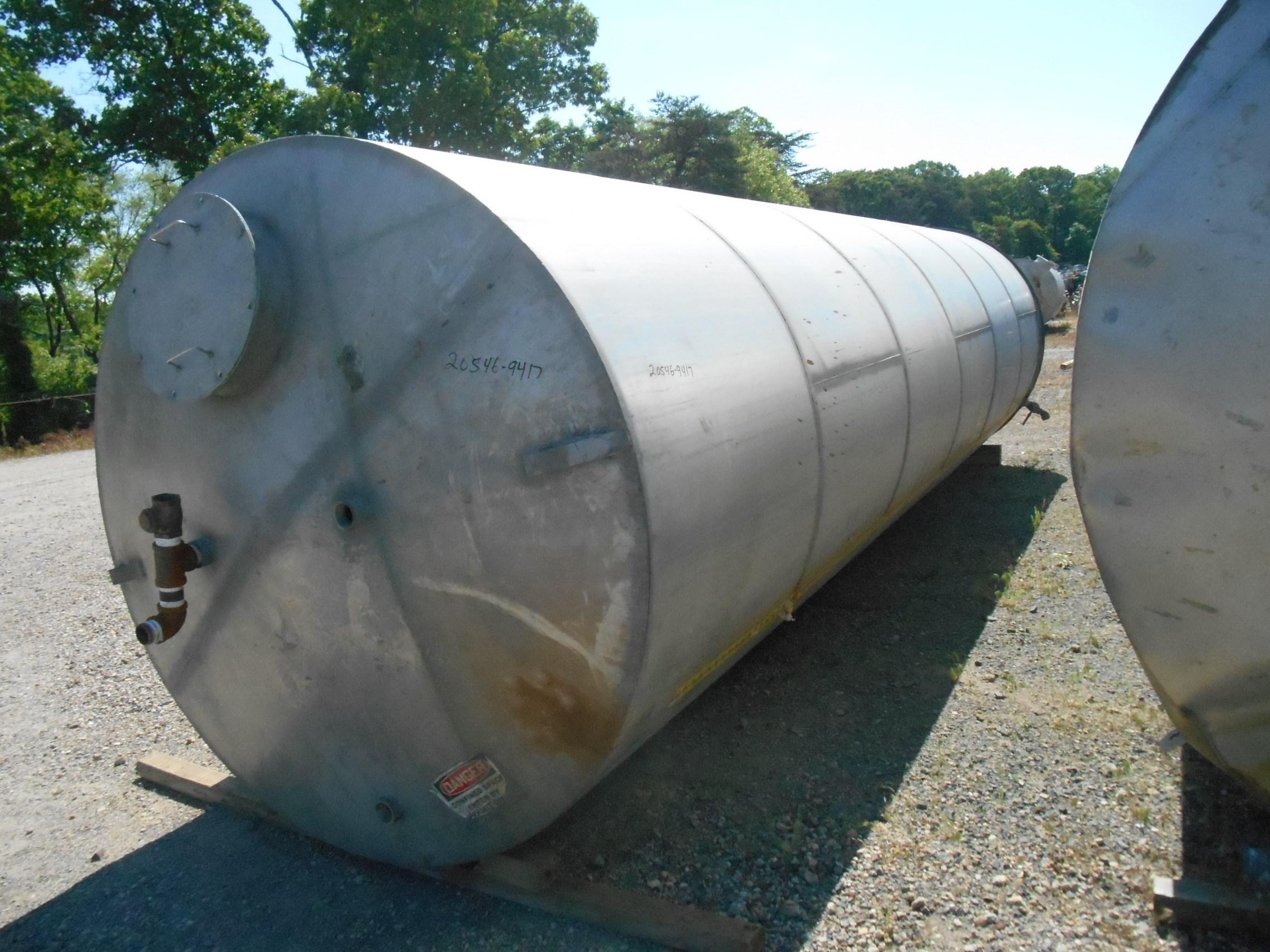 6000 Gal Eisenback Stainless Steel Tank | 9417 | New Used