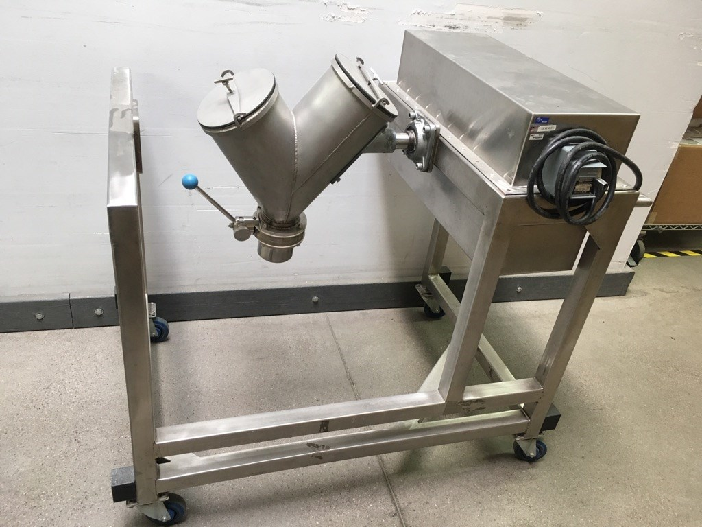 0 622 Cu Ft Syba Ss V Blender 14357 New Used And