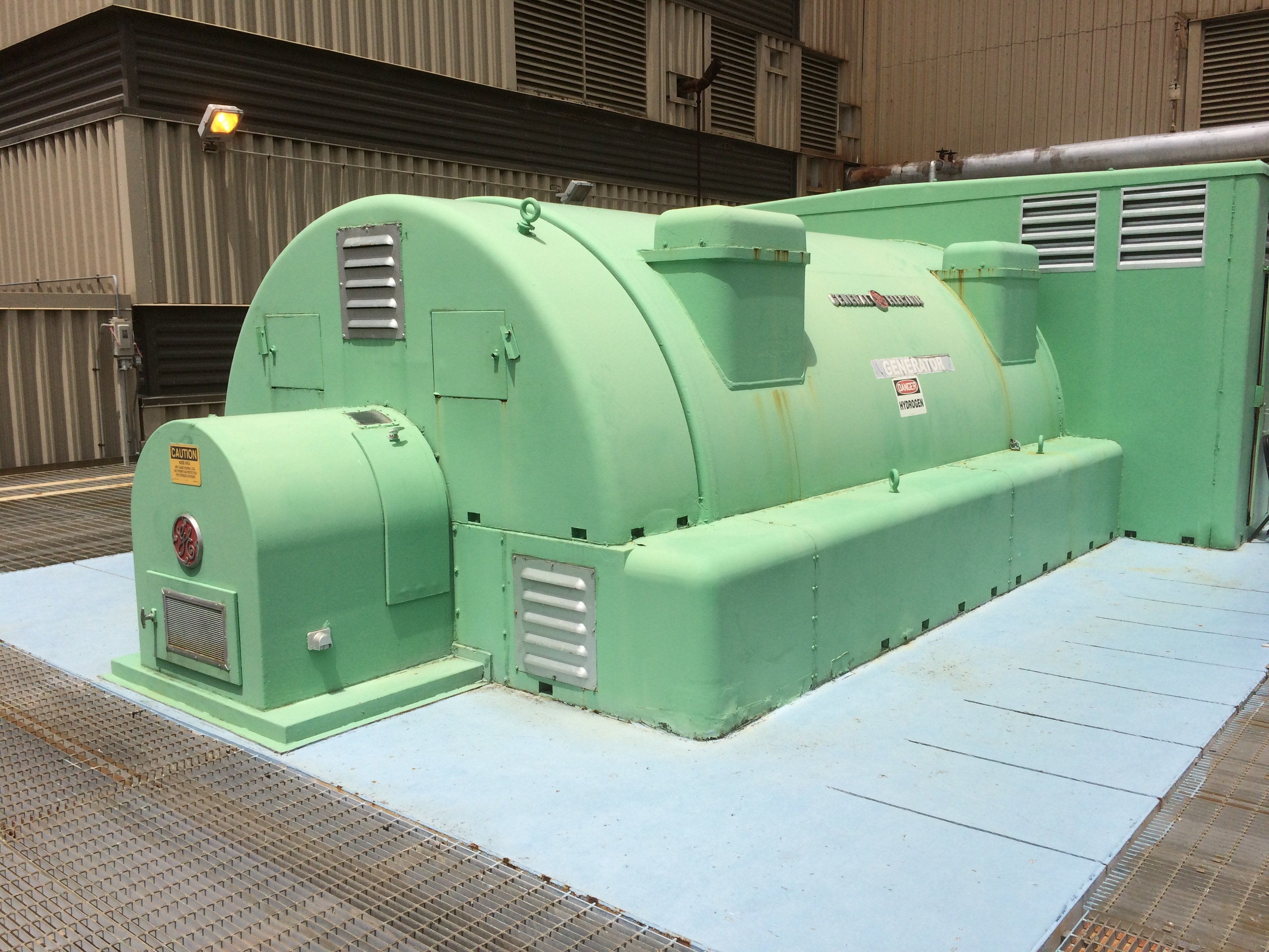 66MW General Electric Steam Turbine Generator
