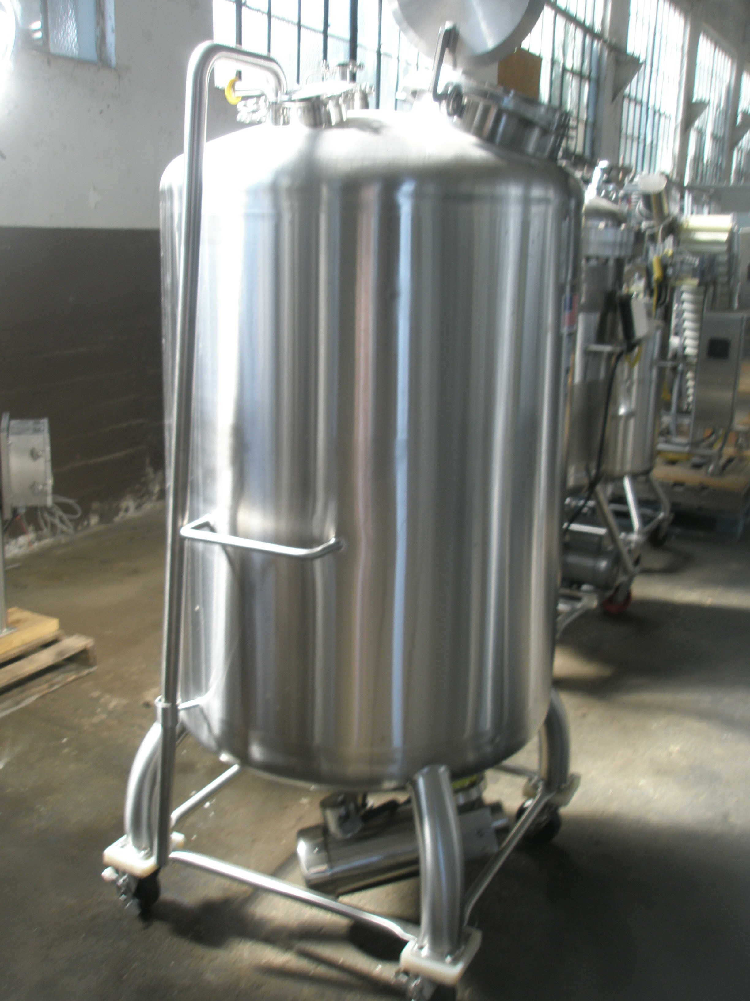 Rpm To Hz >> 180 Gal Stainless Fabrication Inc. Stainless Steel Tank ...