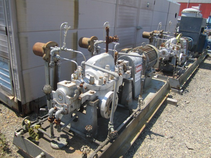 80 GPM Sulzer USA Boiler Feed Pump | 7479 | New Used and Surplus ...