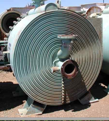 875 Sq Ft Alfa Laval Spiral Heat Exchanger