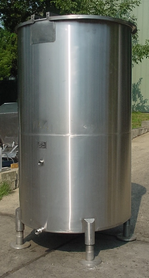 Tri Mix Tank : Gal royal mfg stainless steel tank new used
