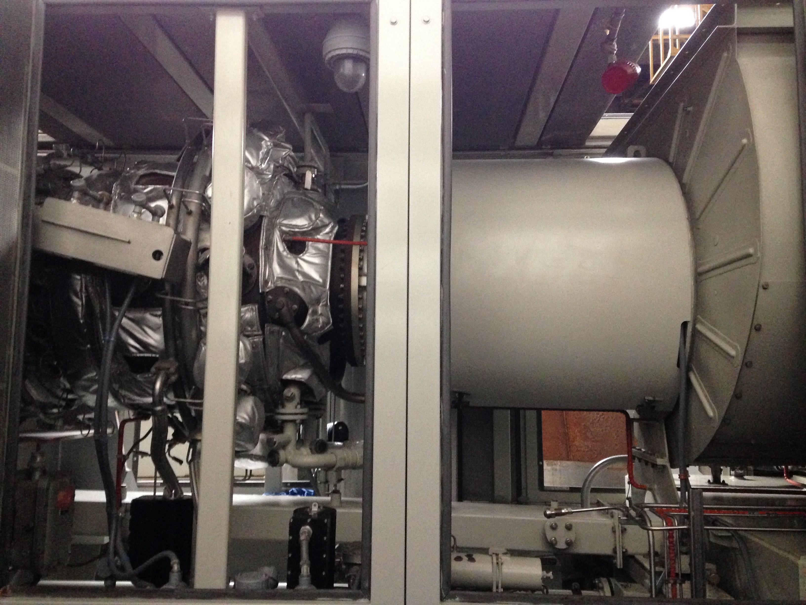 9500 KW Solar Mars 90 T S Gas Turbine Generator