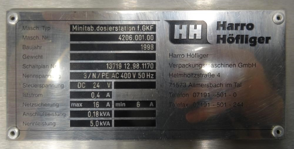 Bosch GKF 1500 Filler | 13816 | New Used and Surplus Equipment ...