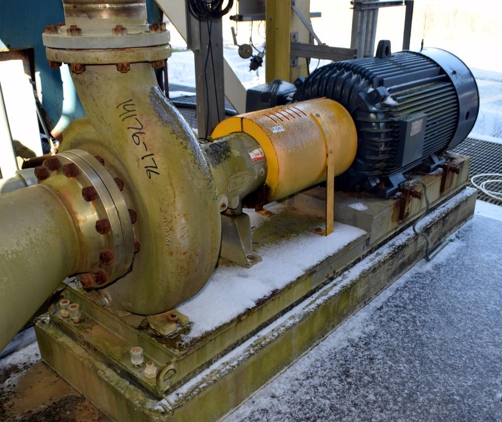 Durco 350 Hp Stainless Steel Centrifugal Pump 14176