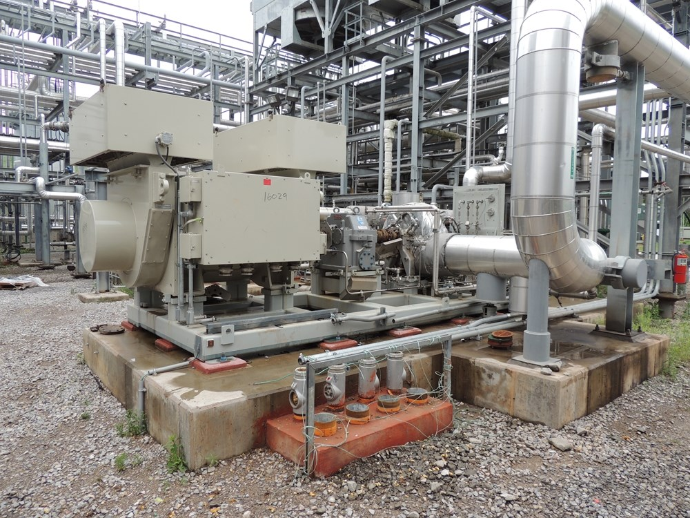 950 KW Elliot Steam Turbine Generator | 16029 | New Used and Surplus