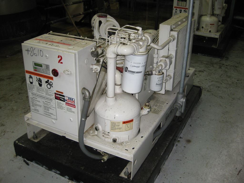10000 CFM Gardner Denver Rotary Compressor | 8610 ... on