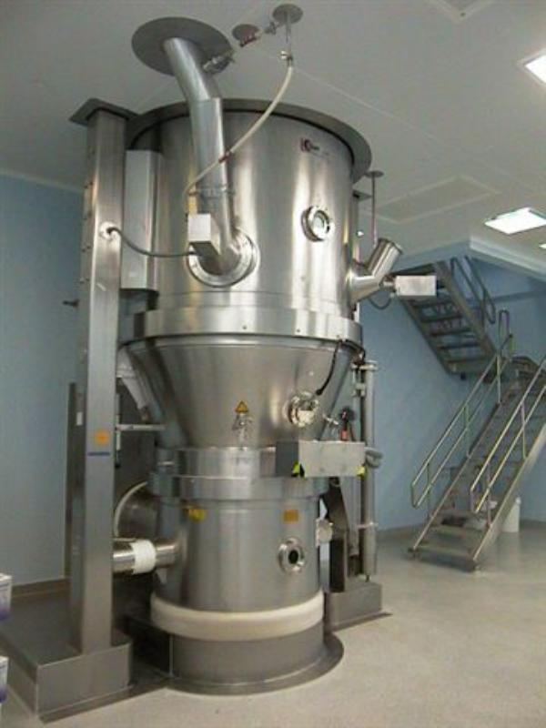 Glatt Air Techniques Wst G500 Fluid Bed Dryer 6902 New