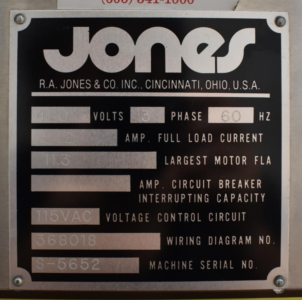 Jones Vial Packaging And Cartoning Line 13443 New Used Nitrous Related Wiring3stagewiringjpg