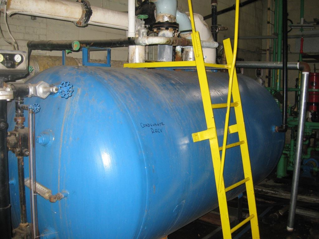 1100 Gal Old Dominion Fabricators Horizontal Carbon Steel Pressure ...