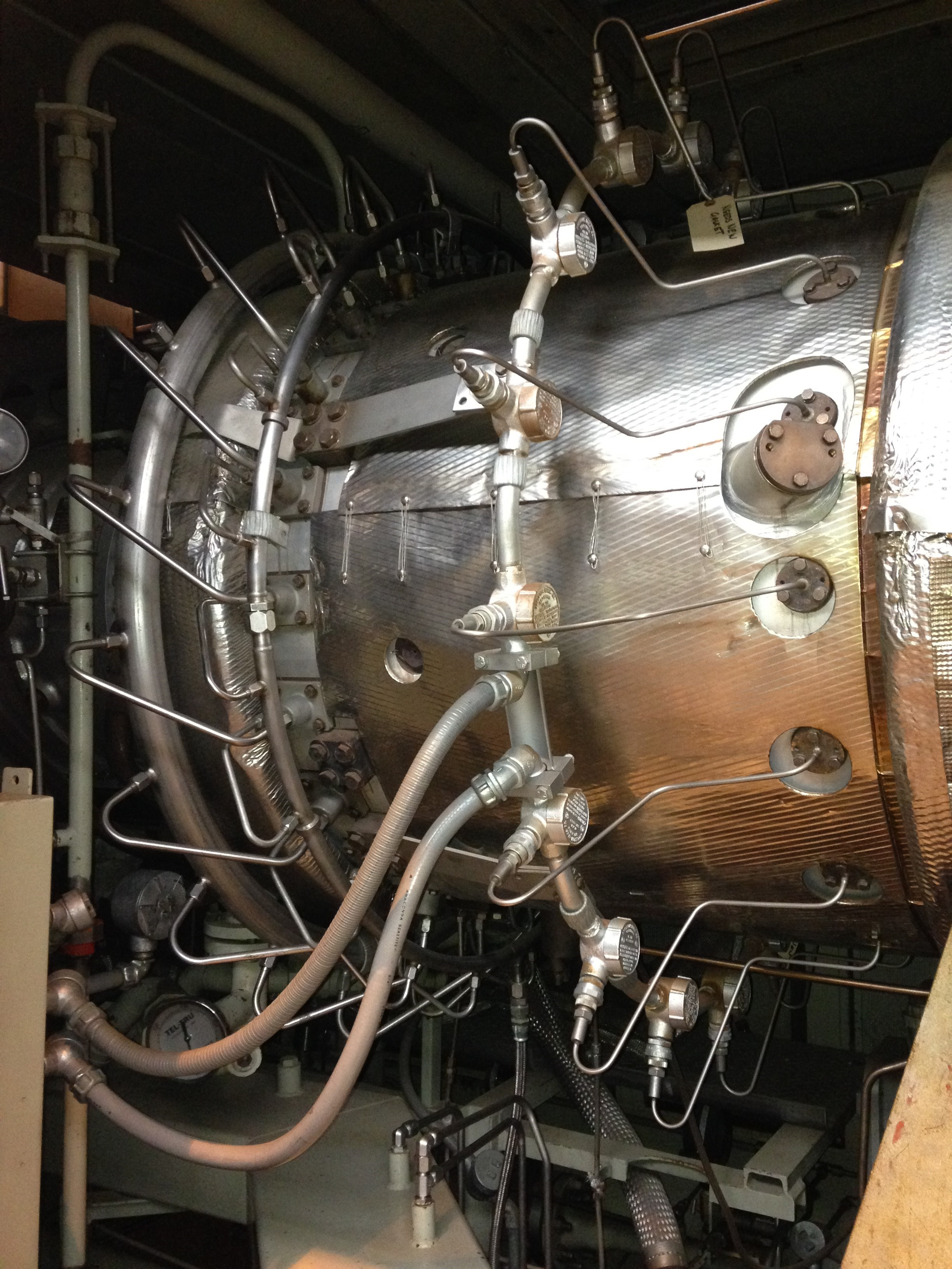 Used Natural Gas Turbine Generator For Sale