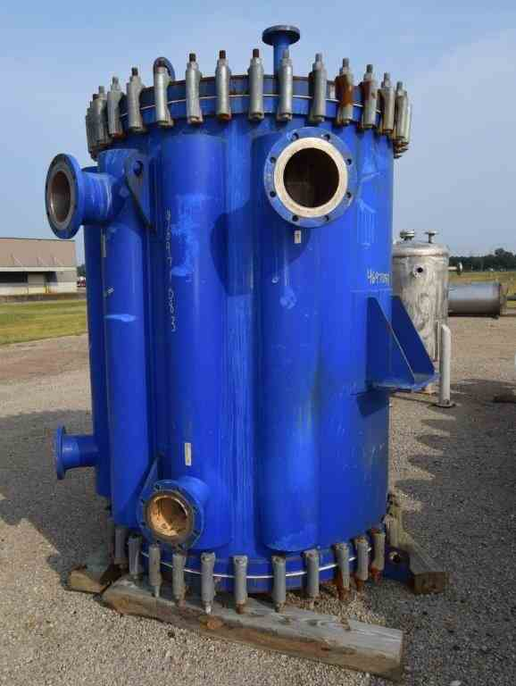 1780 Sq Ft Alfa Laval  Spiral Heat Exchanger