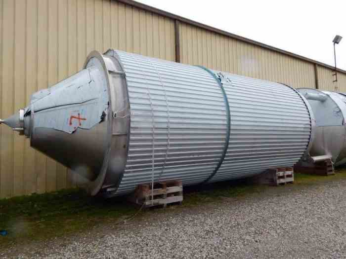 Stainless Steel – 0 to 999 gallons | Used Stainless Steel