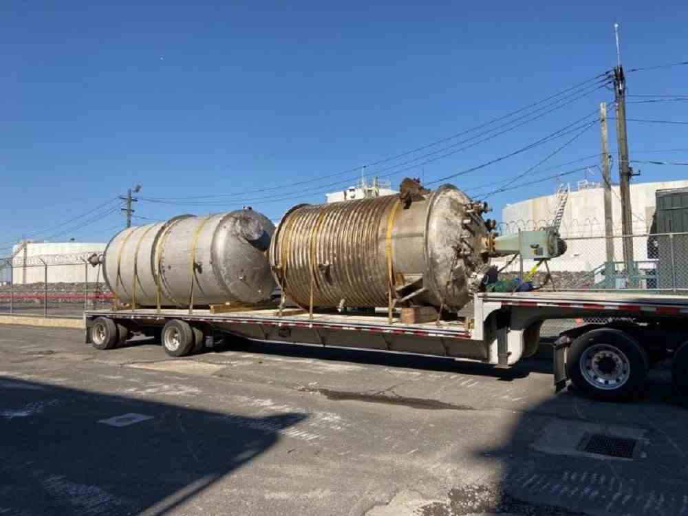 4400 Gal Tolan Stainless Steel Reactor