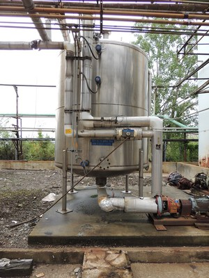 500 Gal Stainless Steel Tank