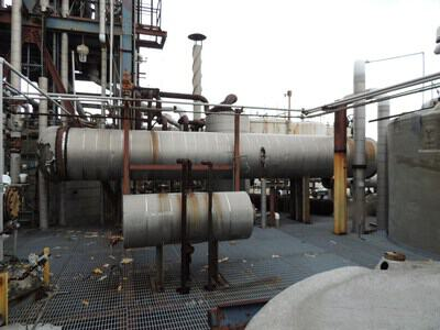 5155 Sq Ft Manning & Lewis Stainless Steel Shell & Tube Heat Exchanger