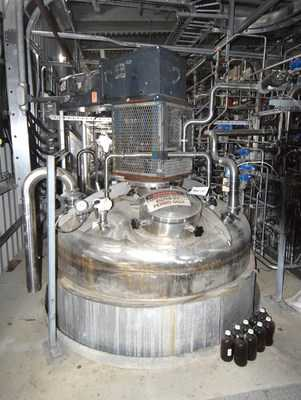 6300 Gal Steel Pro Inc. Stainless Steel Fermenter