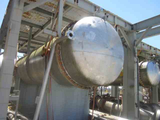 7782 Sq Ft Praj Industries Stainless Steel Shell & Tube Heat Exchanger