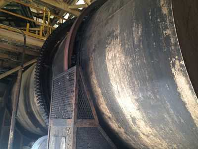 "96 "" Dia Standard Steel Corporation  Rotary Steam Tube Dryer"