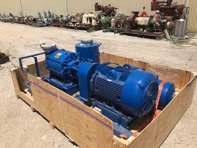 824 HP Nash XL250/5 Vacuum Pump