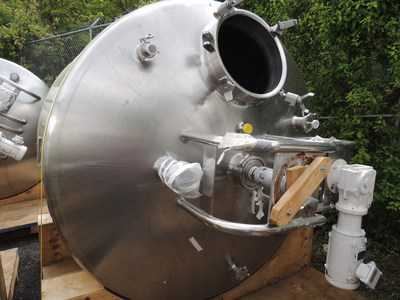 900 Gal DCI Stainless Steel Kettle