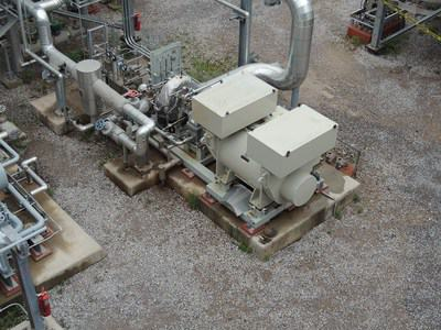 950 KW Elliot Steam Turbine Generator
